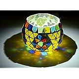 Harekrishna Decorative Table Candle Holder Centerpiece Glass Tea Light Holder 3 Inch