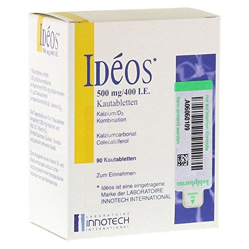 IDEOS 500 mg/400 I.E. Kautabletten 90 St Kautabletten -