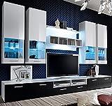 muebles bonitos – Mueble de salón Arlesa Blanco y Negro 3M