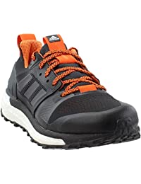 2685da92fb2b adidas Men s Supernova Trail Running Shoes Carbon Core Black Orange 11 D(M