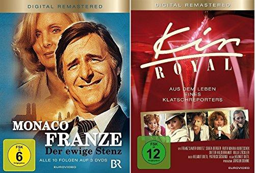Monaco Franze + Kir Royal im Set - Deutsche Originalware [5 DVDs]