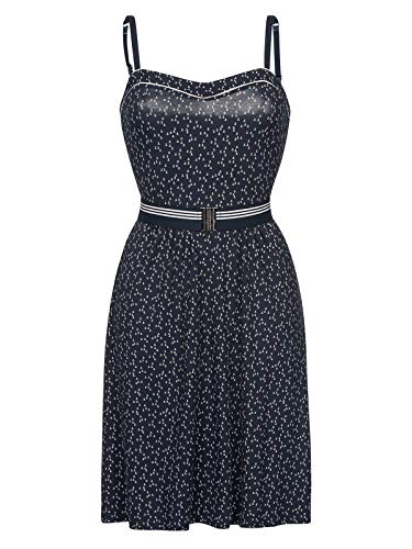 Vive Maria Sea Girl Dress Blue Allover, Größe:XL -