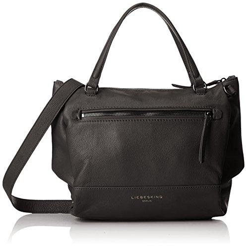 6f79a8fadc Liebeskind Berlin- Agira Pgvint, Shoulder Bag, Women's Black, 12x38x25 cm (B