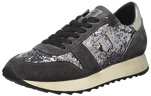 Trussardi Jeans 79S045XX51, Scarpe Low-Top Donna, Grigio (Grey Glitter), 38 EU