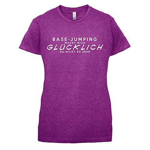 Base-Jumping macht mich glücklich - Damen T-Shirt - 14 Farben Beere