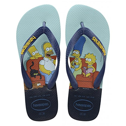 blue 3738 EU Havaianas Simpsons Zehensandale 3738 Scarpe vnn