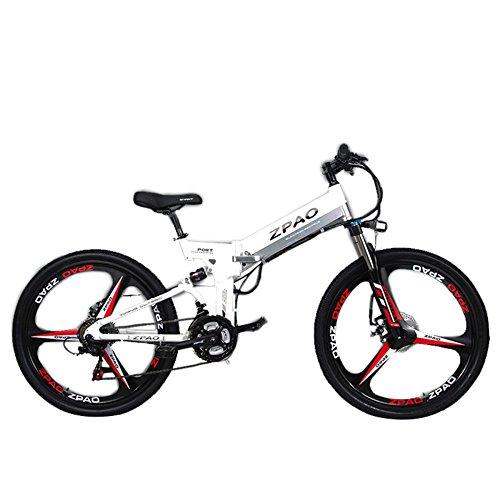 516BJNxnjLL. SS500  - GTYW 26 Inch Electric Folding Bicycle Mountain Bike Adult Bike Electric Lithium Adult Folding Electric Mini Motorcycle 90km Battery Life