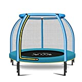 Skiout Outdoor Fitness-Trampolin,Gartentrampolin mit Sicherheitsnetz, Kindertrampolin für Jumping...