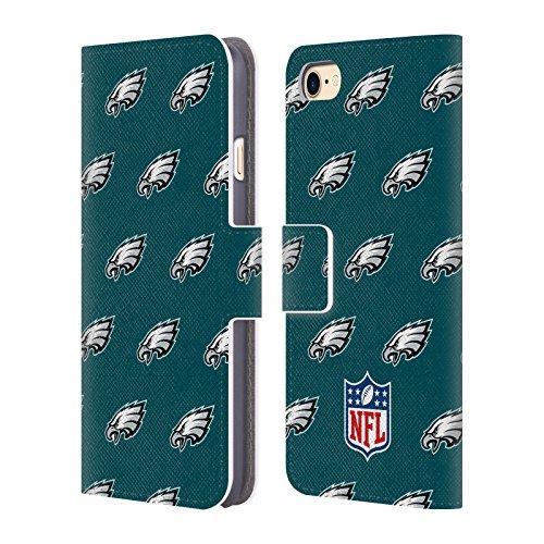 Ufficiale NFL Righe 2017/18 Philadelphia Eagles Cover a portafoglio in pelle per Apple iPhone 6 / 6s Pattern