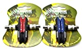 2* Paar Fahrrad Mountain Bike alle Wetter MTB ATB V-Bremsschuhe/Blocks