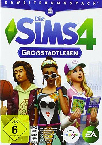 Die Sims 4: Großstadtleben - Erweiterungspack - [PC] (Spiele Pc 4 Sims)