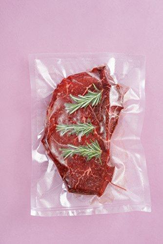 Preisvergleich Produktbild Kochfeste goffrierte Vakuumbeutel 20x30 cm - Sous Vide geeignete Beutel verschiedene Größen 100 Beutel