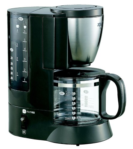 ZOJIRUSHI coffee maker coffee experts [Cup approximately 1 ~ 6 tablespoons: Stainless EC-AJ60-XJ Brown (japan import)