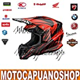 CASCO TAGLIA S AIROH TWIST EVIL ARANCIO ORANGE...