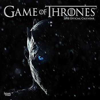 Official Game of Thrones 2018 Wall Calendar