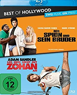 Der Spion und sein Bruder / Leg dich nicht mit Zohan an - Best of Hollywood/2 Movie Collector's Pack [Blu-ray]