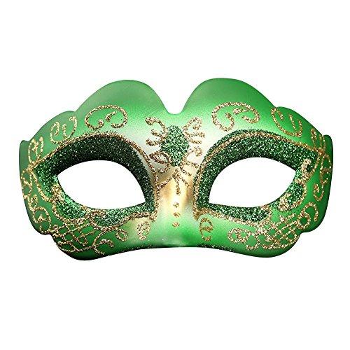 chenut Maskerade Maske Karneval Maske Halloween Party Maske Bunte Frau gemalte Maske Unisex Party Kostüm Zubehör