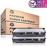 HaloFox 2 Cartouches de Toner MLT-D111S Noir pour Samsung Xpress M2078W M2071W M2071 M2070 M2070F M2070W M2070FH M2070FW M2070HW M2071HW M2071FH SL-M2026W SL-M2026 M2022 M2022W M2020 M2020W M2021W