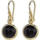 Dower & Hall Jewel  Faceted Round 10mm Drop Earrings