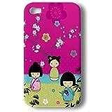 Akashi ALTCI414148 Coque pour iphone 4/4S Poupée Jap