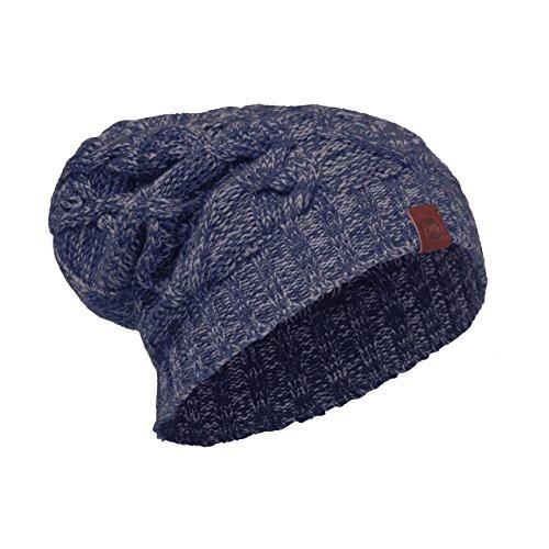 Buff Merino Lana Cappelli e cappellini, Nuba Medieval Blue