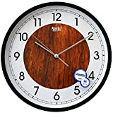 #9: Ajanta 12 inches Wall Clock for Home/Offices/Bedroom/Living Room/Kitchen (Silent Movement, 3)