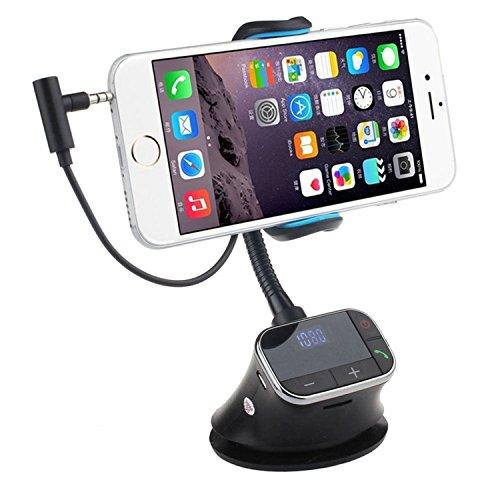 FM Transmitter Auto Kit Halter Ladegerät Freisprecheinrichtung MP3-Player für das iPhone 6 Android intelligentes Mobiltelefon