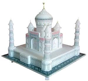 Buy Stonkraft 6 Quot Indian White Marble Handmade Agra Taj