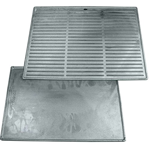 Grill'n Smoke Cast Iron Reversible Griddle Classic