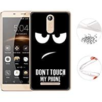 Cover for Vodafone Smart V8 Printing Cartoon Silicone Gel Shockproof Back Cover Case for Vodafone Smart V8