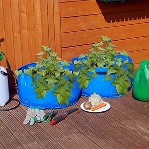 Hamptons Direct Lot de 2 sacs de plantation pour légumes