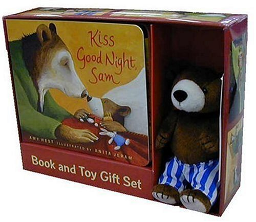 Kiss Good Night: Book and Toy Gift Set [With Plush Toy] (Sam Books)