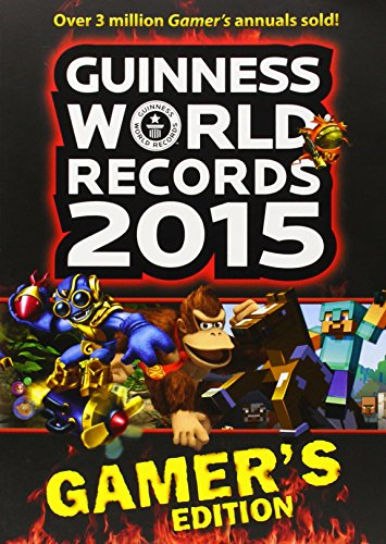 Buchseite und Rezensionen zu 'Guinness World Records 2015 Gamer's Edition (Guinness World Records: Gamer's Edition)' von Guinness World Records