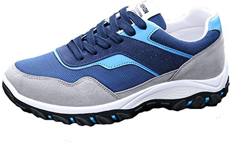 Hibote Herren Laufschuhe Atmungsaktiv Gym Turnschuhe Freizeit Schnuumlrer Sportschuhe Sneaker