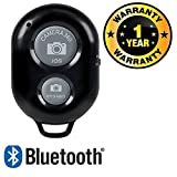 #2: Rhobos Bluetooth Wireless Remote Shutter Photo Clicker Controler Compatible with Xiaomi, Lenovo, Apple, Samsung, Sony, Oppo, Gionee, Vivo Smartphones (One Year Warranty)