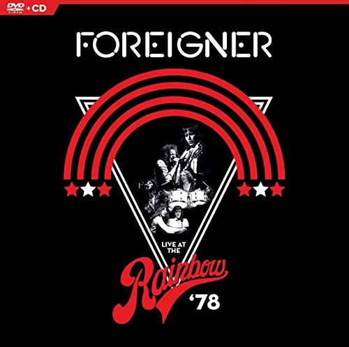Foreigner - Live At The Rainbow '78  (+ CD) [2 DVDs] -