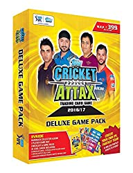 Topps IPL CA 2016 Deluxe Game Pack, Multi Color