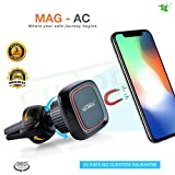 #7: SILTREE 360 Degree Rotation Reusable AC vent Car Magnetic Mobile Holder For Dashboard Magnetic Mobile Car Holder Mobile Holder in Car Dashboard Mobile Holder in Car Windshield Car Mobile Mount For Windshield Magnetic Mobile Holder For Car Best Car Mobile Holder Dashboard Mobile Phone stand Latest Car Mobile Stand Holder Car Black