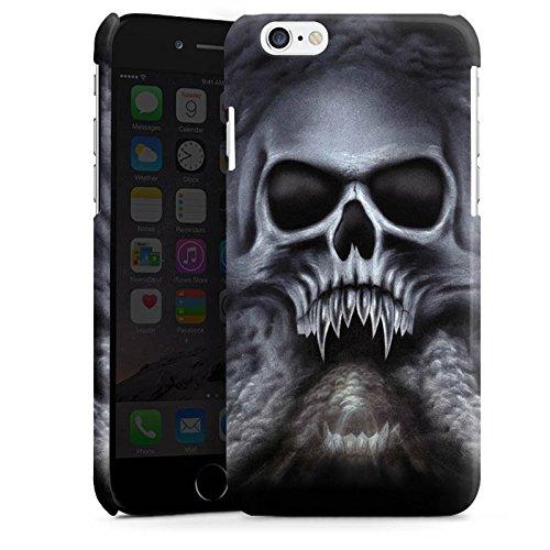 Apple iPhone 5 Housse étui coque protection Tête de mort Crâne Crâne Cas Premium brillant
