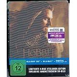 Der Hobbit Smaugs Einöde Limited 4 Disc Edition Lenticular Steelbook Blu-Ray 3D + Blu-Ray + Digital Ultraviolet 3D-Magnet-Lenticularcover