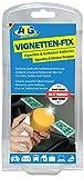 Vignetten- und Kleberentferner 50ml mit Schwamm zum entfernen von Vignetten und Aufkleber auf Glas, Spiegel Frontscheiben Kunststoff und Plastikflächen.