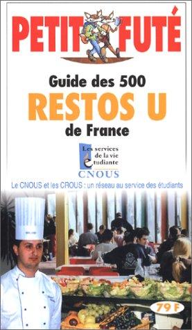 Guide des restos U par Guide Petit Futé