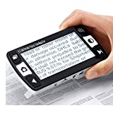 DAMAI Digital Video Magnifier 3.4 Zoll Handportable Mobile Elektronische Lesehilfe Leselupen Für Sehbehinderte, Senioren, Makuladegeneration, Menschen Mit Hoher Kurzsichtigkeit