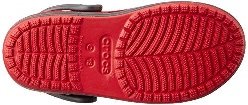 Crocs Bump it Unisex-Kinder Clogs Rot (Pepper/Graphite)