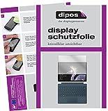 dipos I 2X Schutzfolie klar passend für Microsoft Surface Pro (2017) Folie Bildschirmschutzfolie