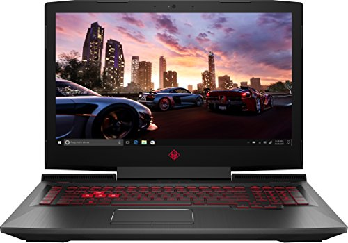 OMEN by HP 17-an016ng (17,3 Zoll / Full HD IPS) Gaming Laptop (Intel Core i7-7700HQ, 1 TB HDD, 256 GB SSD, 32 GB RAM, NVIDIA GeForce GTX 1070 8 GB, G-Sync, Windows 10 Home 64) schwar (Laptops Gamer)