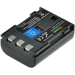 ChiliPower Canon NB-2LH, NB-2L, BP-2L5, BP-2LH 900mAh Batterie pour Canon EOS 350D, 400D, Digital Rebel XT, XTi, PowerShot G7, G9 , S30, S40, S45, S50, S60, S70, S80, DC410, DC420, VIXIA HF R10, HF R100, HF R11, Kiss Digital N, Canon Optura 30, 50, 60, 40, 400, 500, Canon Elura 60, 50, 65, 70, 80, 85, 90, 40mc, Canon ZR-200