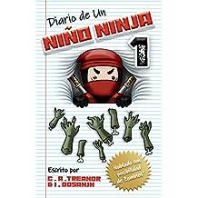 """DIARIO DE UN NIÑO NINJA: """"Nublado con posibilidad de Zombies"""" - Libro 1: Una aventura divertida para niños de entre 6 y 12 años"""