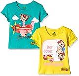 #1: Chhota Bheem Girls' T-Shirt (Pack of 2)