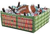 Confettery - Party Dekoration Cooler - American Football - 1 Stück, 61,5 x 23,4cm, Grün